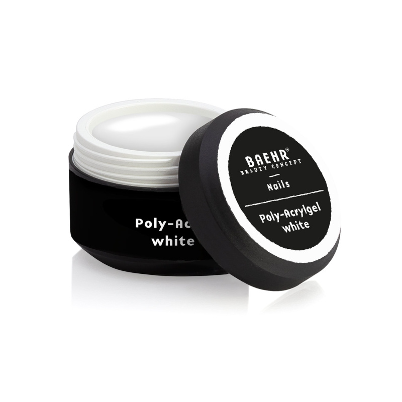 BAEHR BEAUTY CONCEPT NAILS Poly-Acrylgel white 30 ml