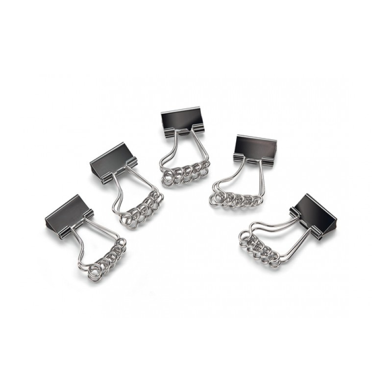 Binder-Clips in Fußform (5er Pack)