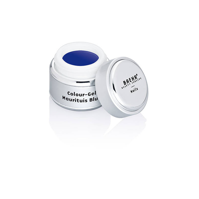 BAEHR BEAUTY CONCEPT NAILS Colour-Gel Mauritius Blue 5 ml