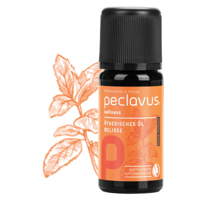 peclavus wellness therisches l melisse 10 ml pflege haushalt mehr. Black Bedroom Furniture Sets. Home Design Ideas